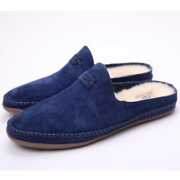ce7fc86265d6 🌹New Ugg Tamara Navy Slip on slippers sz 11 or 12